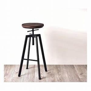 Tabouret A Vis : tabouret a vis en bois massif id e pour la maison et cuisine ~ Teatrodelosmanantiales.com Idées de Décoration