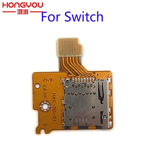If an sd card is installed in the switch, the switch attempts to boot in the following order spare parts For Nintend Switch NS TF SD Card Slot Socket Replacement Handle controller SD Card ...