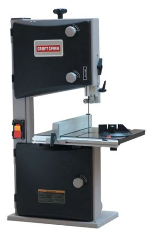 band saw vs table saw review craftsman 1 3 hp 3 5 10 quot band saw 21400 by