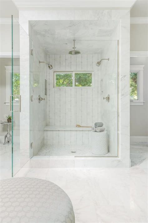 Two Shower Bathroom by Custom Shower With Mosaic Tile Custom Glass Enclosure