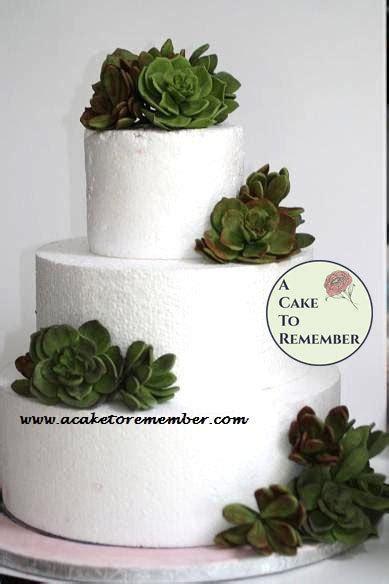 gumpaste succulent cake topper  wedding cakes edible