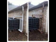 Regenwassernutzungsanlage Selber Bauen : cladding a 1000 ltr 250 gallon ibc water tank wassertank ~ Michelbontemps.com Haus und Dekorationen