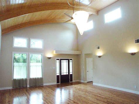 unique  story cottage plans   unusual curved ceiling
