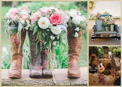 Cowgirl Boots With Flowers  Yu Boots