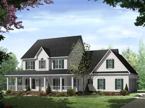 country house plans one one country house plans with wrap around porch 28