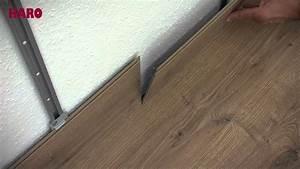 Poser Parquet Stratifié : instructions de pose sol au mur sol stratifi haro ~ Melissatoandfro.com Idées de Décoration