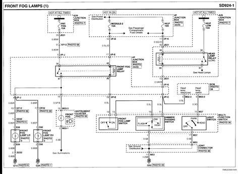 Need Wiring Diagram For Fog Lights Kia Optima