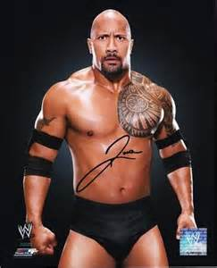 As the Rock Dwayne Johnson Wrestling