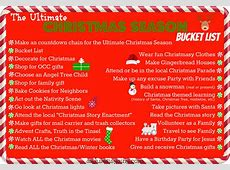 The Ultimate Christmas Season Bucket List