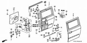2003 Honda Odyssey Parts Diagram