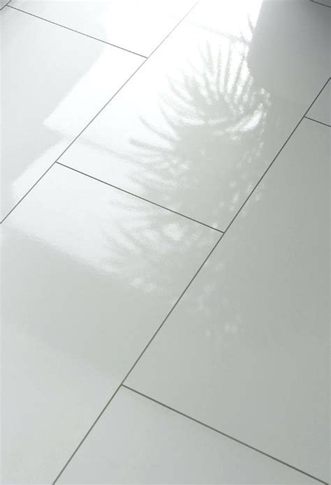 High Gloss Flooring Perfect Decoration White Flooring