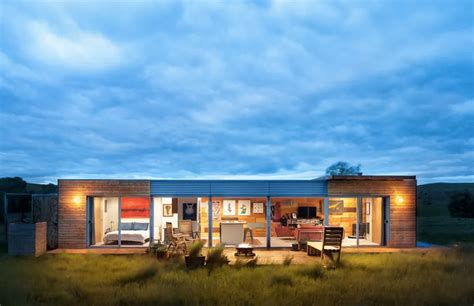 Coming Home Interiors - shipping container house in montana lists for 125k