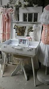 Schminktisch Shabby Chic : schminktisch koffer shabby chic shop landhaus look ~ Sanjose-hotels-ca.com Haus und Dekorationen