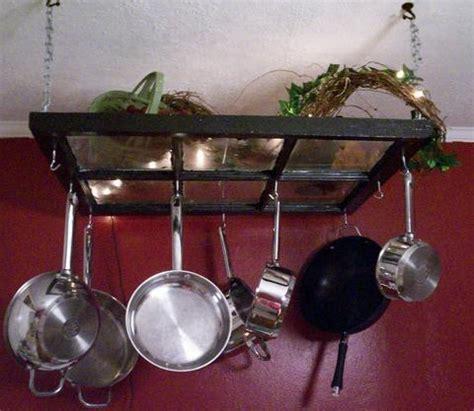 diy hanging a kitchen pot rack the modern