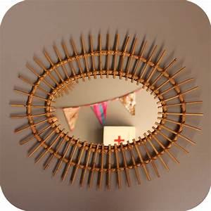 Petit Miroir Rotin : miroir rotin forme soleil atelier du petit parc ~ Melissatoandfro.com Idées de Décoration