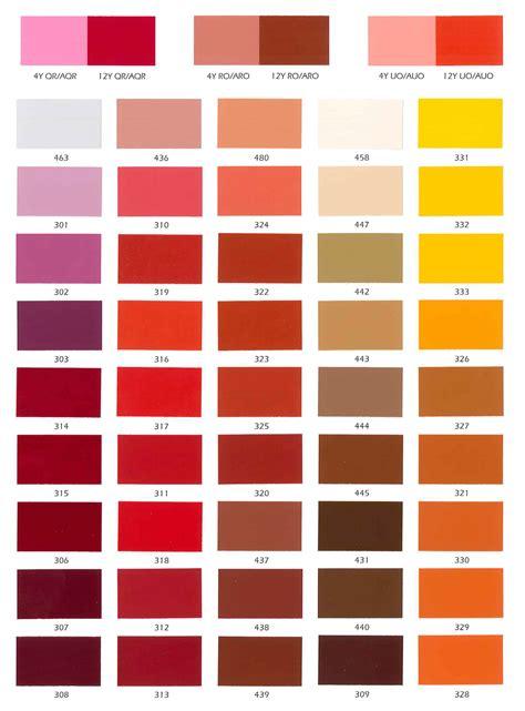 paint color guide pdf ameron paint color chart paint color ideas