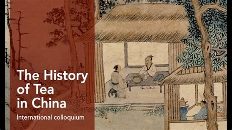 The History Of Tea In China 2016