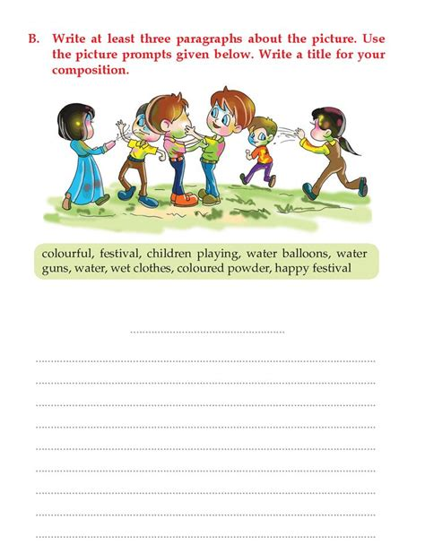 writing skill grade  picture composition  picture