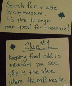 Best 25 Treasure Hunt Clues Ideas On Pinterest