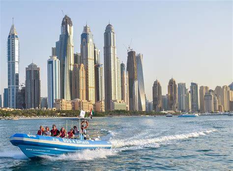 Marina Boat Tour Dubai by Speed Boat Tour Of The Dubai Marina Atlantis And Burj Al