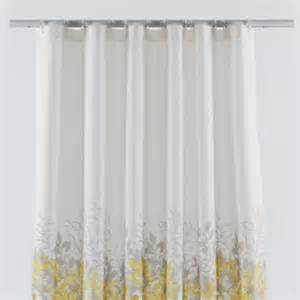 shower curtains yellow grey room ornament