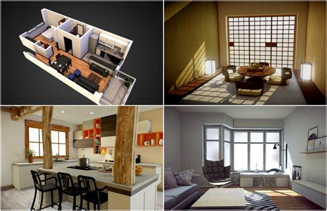 7 examples of how to show off interiors in your 3d models