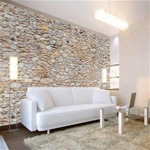 Mauer Wand Wohnzimmer : vlies fototapete 400x280 cm top tapete wandbilder xxl ~ Lizthompson.info Haus und Dekorationen
