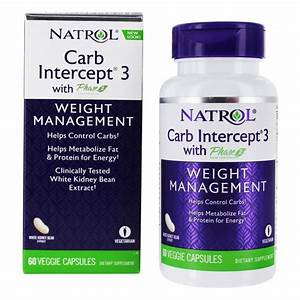 Buy Natrol - Carb Intercept 3 With White Kidney Bean Extract