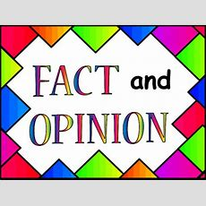Communication Arts  Reading  Fact & Opinion  Common Core State Standard Lessons, Resources