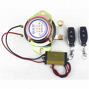 Battery Switch Manual Control Relay Copper Solenoid Valve