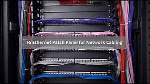Cat5e  Cat6 Patch Panel And Blank Ethernet Patch Panel