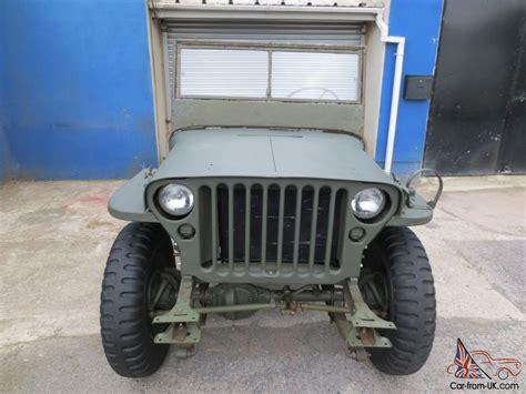 wwii jeep for sale 1945 willys mb ww2 jeep gpw nice winter project