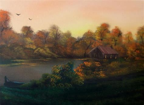 Bob Ross New Day In Autumn Sold Cynthia Adams Painting