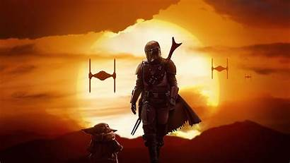 Mandalorian Wallpapers Cool Yoda 4k 1080p Wars