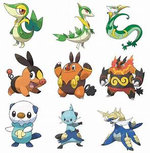 Oshawott Evolution Chart Google Search Characters And