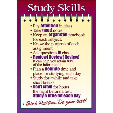 Study Skills Argus Poster  Ta63125  Trend Enterprises Inc Posters,miscellaneous