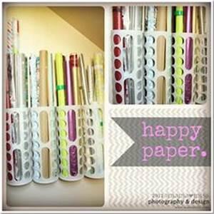 Geschenkpapier Organizer Ikea : 33 best wrapping paper holder images craft organization craft rooms storage ideas ~ Eleganceandgraceweddings.com Haus und Dekorationen