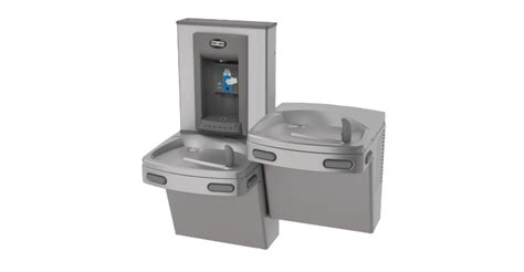 water fountain sink combo kep8acsl sbf stn