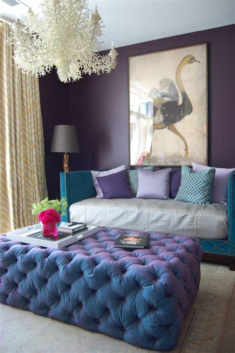 pouf chambre la chambre violette en 40 photos archzine fr