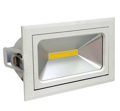 cob 30w rectangular adjustable led wall washer oe led