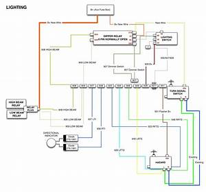 Led Fluorescent Tube Wiring Diagram