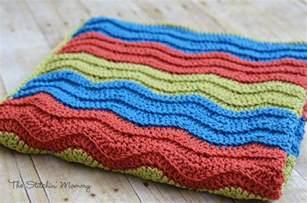 Easy Ripple Crochet Blanket Patterns