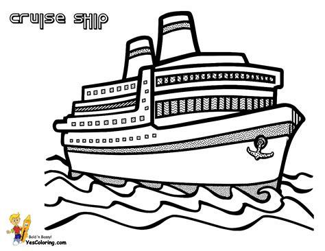 Spectacular Cruise Ship Coloring Cruises Free Ship