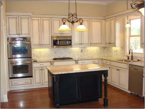 Distressing Kitchen Cabinets Distressed Kitchen Cabinets Casual