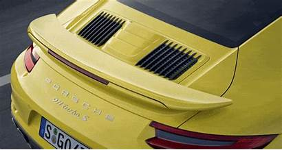 Turbo Rear Spoiler Porsche Lag Anti