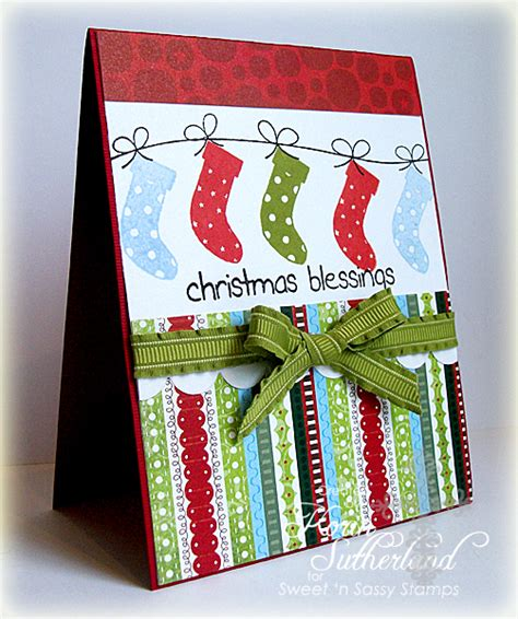 Christmas Blessings Sc395 By Sweetnsassystamps At