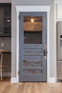 why a cool pantry door is the secret ingredient to a cool With what kind of paint to use on kitchen cabinets for metal wall art phoenix