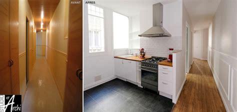ouvrir cuisine ouvrir la cuisine sur le couloir studio d 39 archi le