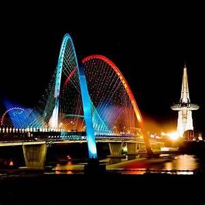 Expo Bridge at Daejeon, Korea