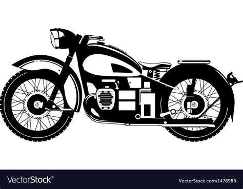 Motorcycle Royalty Free Vector Image